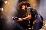 Matt Horan, cantante y guitarrista de Dead Bronco (Santana 27, Bilbao, 2017)