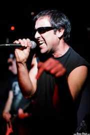 Jon Ander, cantante de Tiparrakers (Mendigo, Barakaldo, 2018)