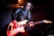 Joseba B. Lenoir, guitarrista de Sumisión City Blues (Mendigo, Barakaldo, 2018)