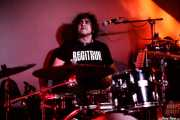 David Marín, baterista de Sumisión City Blues (Mendigo, Barakaldo, 2018)