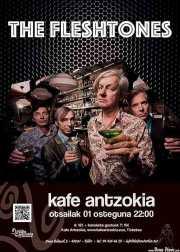 Cartel de The Fleshtones (Kafe Antzokia, Bilbao, )