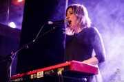 Olatz Andueza, teclista de Anita Parker (Sala Stage Live (Back&Stage), Bilbao, 2018)