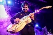 Jon Zubiaga, guitarrista de Anita Parker (Sala Stage Live (Back&Stage), Bilbao, 2018)