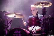 Evan Walsh, baterista  de The Strypes (Kafe Antzokia, Bilbao, 2018)