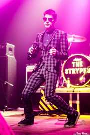 Ross Farrelly, cantante y armonicista de The Strypes (Kafe Antzokia, Bilbao, 2018)