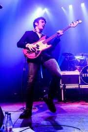 Pete O'Hanlon -bajo- y Evan Walsh -batería- de The Strypes (Kafe Antzokia, Bilbao, 2018)