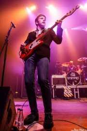Pete O'Hanlon, bajista de The Strypes (Kafe Antzokia, Bilbao, 2018)