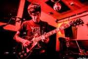 José Pazos, cantante y guitarrista de Futuro Terror (Shake!, Bilbao, 2018)