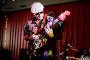 Yvan Serrano-Fontova, guitarrista de The Dustaphonics (Satélite T, Bilbao, 2018)