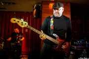 Mark Claydon -batería- y Mark Claydon -batería- de The Dustaphonics (Satélite T, Bilbao, 2018)