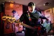 Dan Whaley, bajista de The Dustaphonics (Satélite T, Bilbao, 2018)