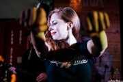 Hayley Red, cantante de The Dustaphonics (Satélite T, Bilbao, 2018)