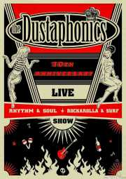 Cartel de The Dustaphonics (Satélite T, Bilbao, )