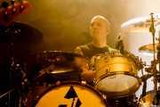 Kjetil Gjermundrød, baterista de Kvelertak (Kafe Antzokia, Bilbao, 2018)