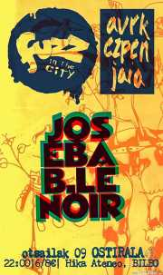 Cartel de Joseba B. Lenoir (Hika Ateneo, Bilbao, )