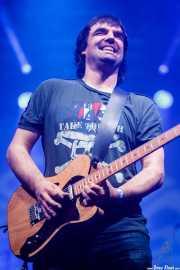 """Gotzon Ereño """"Gotzila"""", guitarrista de The Riff Truckers eta lagunak (Santana 27, Bilbao, 2018)"""