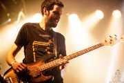 Iker Ramos, bajista de  de The Riff Truckers eta lagunak (Santana 27, Bilbao, 2018)