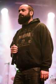 Monas, cantante invitado de The Riff Truckers eta lagunak (Santana 27, Bilbao, 2018)