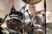 Xabier Aldaz, baterista de Kaotiko (Santana 27, Bilbao, 2018)