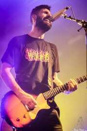 Pablo Martínez, guitarrista y cantante de Desakato (Santana 27, Bilbao, 2018)
