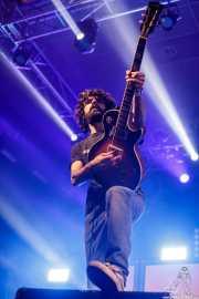 Gabriel Martínez, guitarrista de Desakato (Santana 27, Bilbao, 2018)