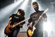 Gabriel Martínez -guitarra- y Pablo Martínez -voz y guitarra- de Desakato (Santana 27, Bilbao, 2018)