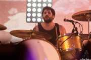 Nano D'Angelo, baterista de Desakato (Santana 27, Bilbao, 2018)