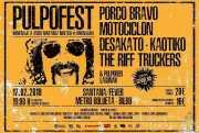 Cartel del PulpoFest 2018 (Santana 27, Bilbao, )