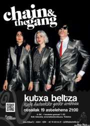 Cartel de Chain & The Gang (Kafe Antzokia, Bilbao, )