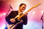 Evan Foster, guitarrista y cantante de The Sonics (Sala Stage Live (Back&Stage), Bilbao, 2018)