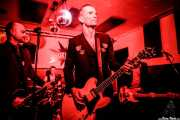 Andrea Bonfiglio -guitarra-, Juan Marco -batería-, Javi Diesel -voz y guitarra- e Iván Flores -bajo- de The Diesel Dogs (Shake!, Bilbao, 2018)