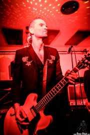 Javi Diesel, cantante y guitarrista de The Diesel Dogs (Shake!, Bilbao, 2018)