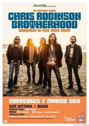 Cartel de Chris Robinson Brotherhood (Kafe Antzokia, Bilbao, )