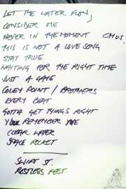Setlist de Danny & The Champions of the World (Kafe Antzokia, Bilbao, 2018)