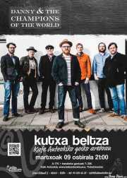 Cartel de Danny & The Champions of the World (Kafe Antzokia, Bilbao, )