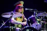 Niclas Svensson, baterista de The Baboon Show (Bilbao Exhibition Centre (BEC), Barakaldo, 2018)