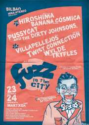Cartel de Fuzz in the City 2018 (Hika Ateneo, Bilbao, )