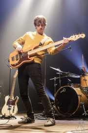 Sergio Gil, bajista de Yellow Big Machine (Kafe Antzokia, Bilbao, 2018)