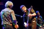 Víctor Sánchez -guitarra-, José Ignacio Lapido -voz y guitarra- y Jacinto Ríos -bajo- de Lapido (Sala BBK, Bilbao, 2018)