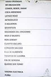 Setlist de Discípulos de Dionisos (Nave 9 (Museo marítimo), Bilbao, 2018)