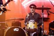 """Kris """"Killer"""" Kowalski, baterista de Los Pepes (FuzzVille - Magic Robin Hood Resort, Alfaz del Pi, 2018)"""