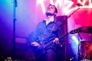 Carlo Landini, guitarrista de The Peawees (FuzzVille - Magic Robin Hood Resort, Alfaz del Pi, 2018)