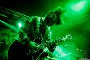 Guillermo Sinnerman, cantante y guitarrista de Los Bengala (FuzzVille - Magic Robin Hood Resort, Alfaz del Pi, 2018)