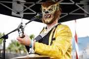 Hombre Lobo Internacional, one man band (FuzzVille - Magic Robin Hood Resort, Alfaz del Pi, 2018)