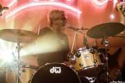 Diego Monasterios, baterista de Jacuzzi Boys (FuzzVille - Magic Robin Hood Resort, Alfaz del Pi, 2018)