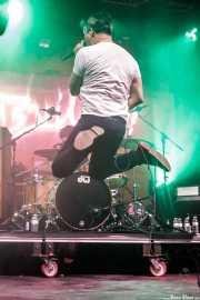 Eric Davidson, cantante de New Bomb Turks (FuzzVille - Magic Robin Hood Resort, Alfaz del Pi, 2018)