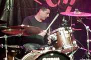 Juan Peris, baterista de Depressing Claim (FuzzVille - Magic Robin Hood Resort, Alfaz del Pi, 2018)