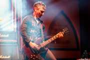 Iker Illarramendi, guitarrista de Nuevo Catecismo Católico (FuzzVille - Magic Robin Hood Resort, Alfaz del Pi, 2018)