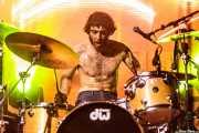 Manuel Pablo McNamara, baterista de Les Lullies (FuzzVille - Magic Robin Hood Resort, Alfaz del Pi, 2018)