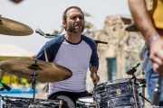 "Roberto Lozano ""Loza"", baterista de Sex Museum (FuzzVille - Magic Robin Hood Resort, Alfaz del Pi, 2018)"